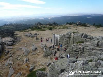 Senderismo Cueva Valiente - Pico Cueva Valiente - Refugio pico Valiente; senderismo madrid joven